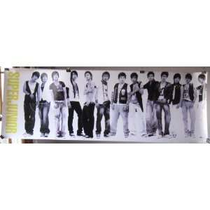 boy band SuJu (poster sent from USA in PVC pipe)
