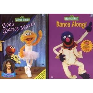 Street   Dance Along!/Zoes Dance Moves (Boxset): Sesame Street