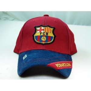 FC BARCELONA OFFICIAL TEAM LOGO CAP / HAT   FCB002 Sports