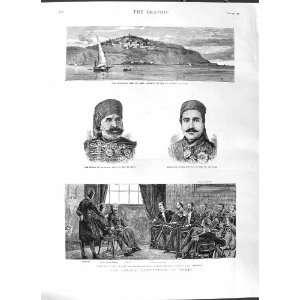 1881 SAIDI BOU SAID ES SADEK MUSTAPHA BEY TUNS TRYON: Home & Kitchen