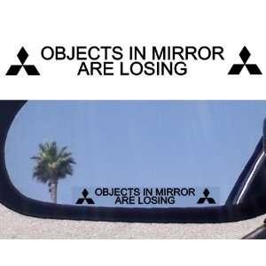Mirror Decals for MITSUBISHI EVOLUTION X EVO ECLIPSE 3000GT GSR MR
