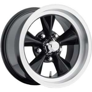 US Mags Standard 18x8 Black Wheel / Rim 5x4.5 with a 14mm Offset and a