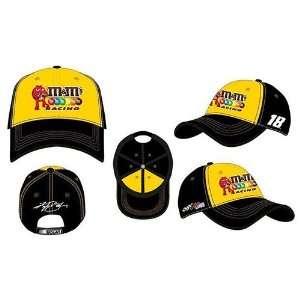 Kyle Busch 2012 M&M Team Color Mens Hat: Everything Else