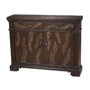 Sterling Industries 88 1217 52 Rosemeade Chest, Crackled Coffee Brown