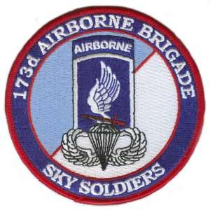 173rd Airborne Brigade Patch with Jump Wings: Everything