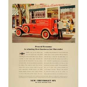 1931 Ad Chevrolet Six Anheuser Busch Delivery Truck