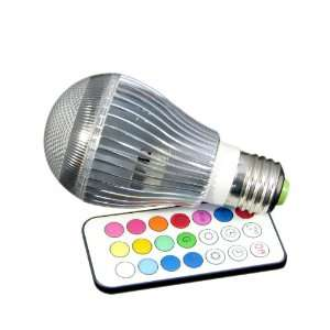 Changing LED Light Globe Bulb With Remote, Super Bright Mood Light