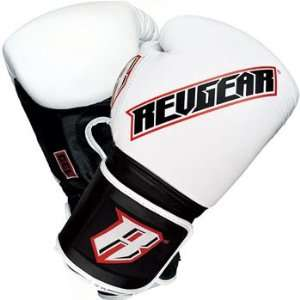 RevGear Sentinel Gel Pro Boxing Gloves (Exclusive White