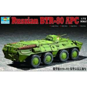 Trumpeter 1/72 Russian BTR80 Armored Personnel Carrier Kit