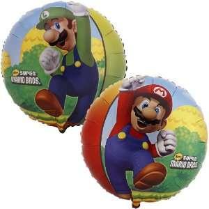By Party Destination Super Mario Bros. Foil Balloon