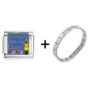 Ultimate Beauty Queen Italian Charm Pugster Jewelry