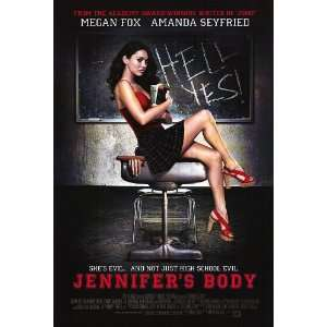 Jennifers Body Movie Poster Double Sided Original 27x40