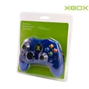 New Xbox Wired Controller Blue Dual Analog Joysticks Vibration