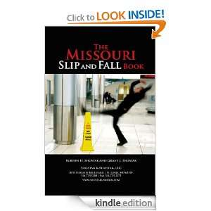 The Missouri Slip and Fall Book eBook: Burton H. Shostak