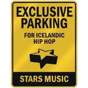 FOR ICELANDIC HIP HOP STARS  PARKING SIGN MUSIC