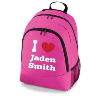 Love Jaden Smith Bag New Girls School Backpack