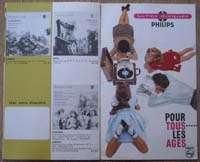 PHILIPS VINYL RECORDS ca.1960 Color Illustrated Catalog