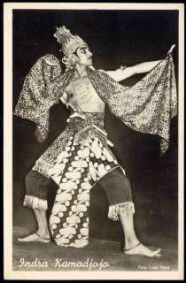 indonesia, Wayang Wong Dancer Actor INDRA KAMADJOJO ppc