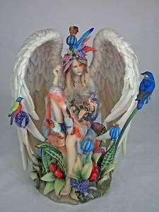 Sanctuary Angel Figurine Statue Sheila Wolk Limited NEW