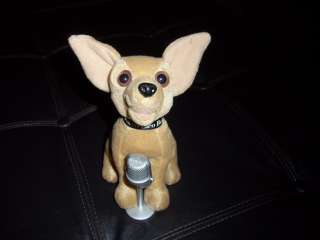 Chihuahua Taco Bell Dog Singing Plush Puppy Yo Quiero Taco Bell
