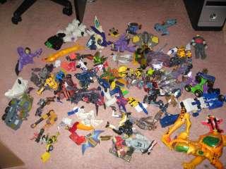 transformers junk parts lot g1 bw beast wars machines movie HUGE star
