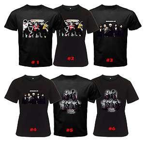 Popular Boy Band Korean Alive Tonight Black T Shirt Sto3XL Men & Women