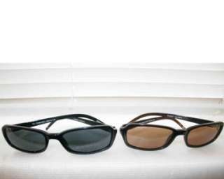 NEW Designer Authentic Fossil Ladies Tia Brown & Black Sunglass w