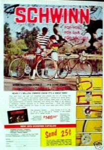 1978 Schwinn Varsity Sport 10 Speed Bicycles, Bike AD