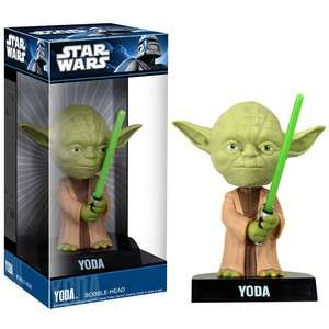 Yoda Star Wars Bobble Head Funko NEW