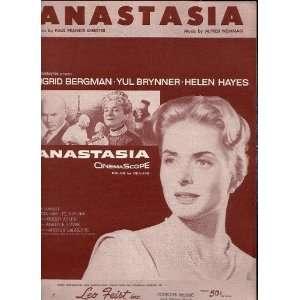 Anastasia with Ingrid Bergman , Yul Brynner , Helen Hayes