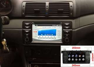 Hot 7 HD Car Monitor GPS Video Radio Navigation DVD Player for BMW 3