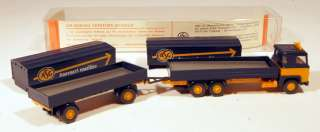 DL Wiking 1/87 Scania Covered Delivery Truck/Trailer  ASG