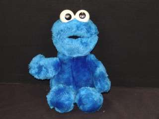 APPLAUSE SESAME STREET BLUE COOKIE MONSTER PLUSH STUFFED ANIMAL