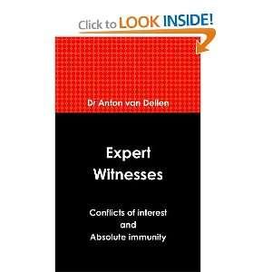 and Absolute Immunity (9781446739648): Dr Anton van Dellen: Books