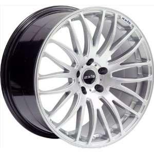 20x8.5 Axis Power (Hyper Silver) Wheels/Rims 5x114.3