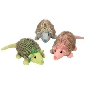 Mr. Armie Dog Toy in Pastels (Assortment of 3) [Set of 3