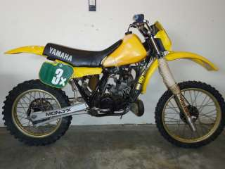 1982 Yamaha YZ250 Engine Motor Cylinder Head   Image 05