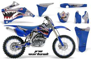STICKER NUMBER PLATE GRAPHIC DECAL YAMAHA YZ450F YZ YZ250F 06 09 PWU