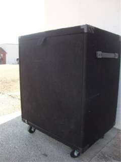 Genz Benz FXR 12 Rack Case FX12 12 space rack case w/casters