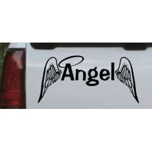 Angel With Wings Christian Car Window Wall Laptop Decal