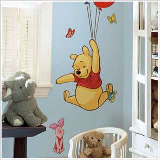 Disney WINNIE POOH & PIGLET Wall Sticker Decal Mural
