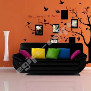 Photo Tree Window Door Wall Paper Mural Decal Sticker