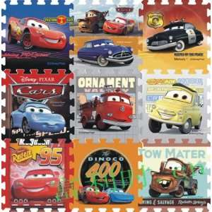 Disney Cars Figure Foam Floor Puzzle Mat Nursery Soft Mat