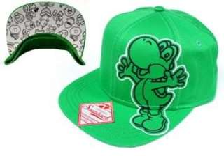 Super Mario Yoshi Hat With Enemy Baseball Cap Snap Back Licensed Kid