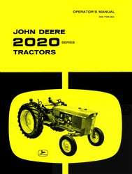 John Deere 2020 Gas Diesel Operators Manual JD