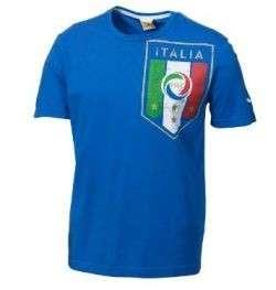 Puma ITALY WC 2010 Fan BIG BADGE Shirt BRAND NEW