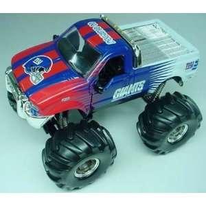 2003 New York Giants Diecast Ford F 350 Monster Truck /800