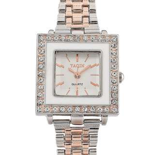 Fashion Jewelry Gift Classic Rose Gold Plated Quartz Watch Wristwatch
