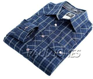 Vintage/Classic Premium Luxury Men's Casual Slim Checks/Plaid Dress