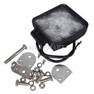 12/24V LED Work Light OffRoad Flood 1150Lumen 6500K ATV Jeep SUV Truck